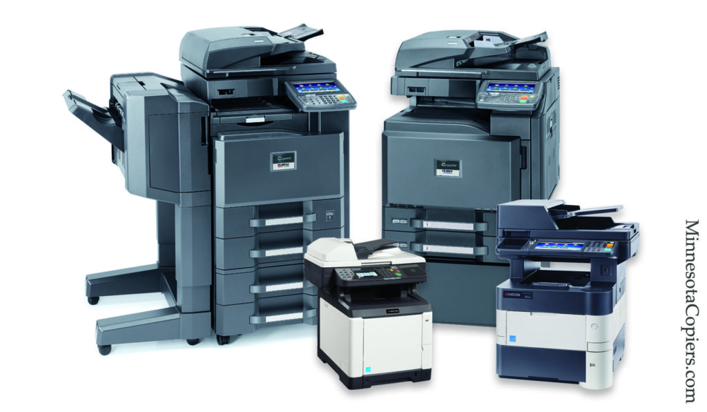 copier sales lease rentals Blaine MN