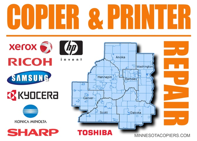 Copier & Printer Repair Service Laville MN